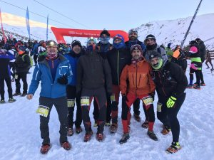 Ya a un buen coste snow running sierra nevada 2018