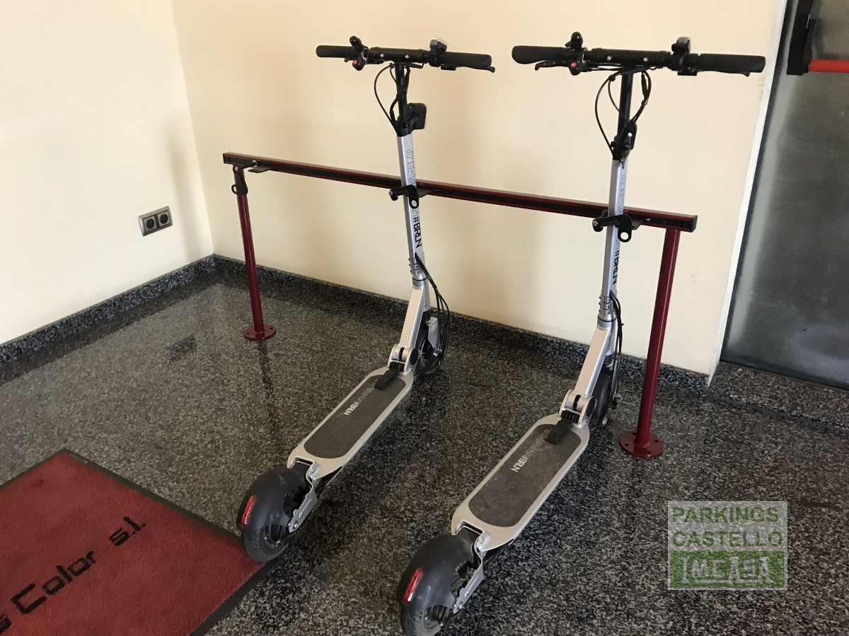 parking patinetes electricos