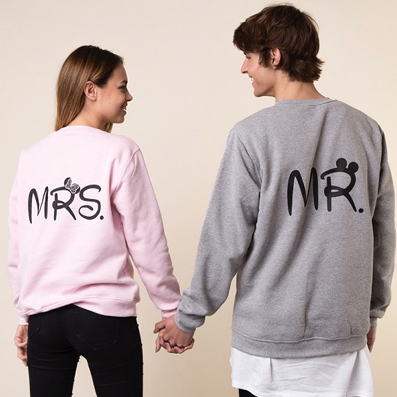 sudaderas mr y mrs