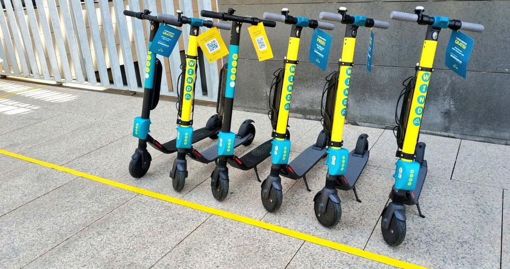 wind patinetes electricos
